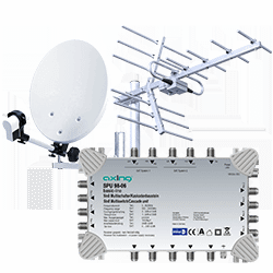 Instalacje telewizji naziemnej i satelitarnej